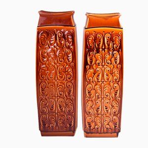 Mid-Century Czech Ceramic Vases from Ditmar Urbach, Set of 2