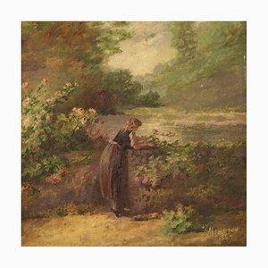 Französische romantische Landschaft, 1889