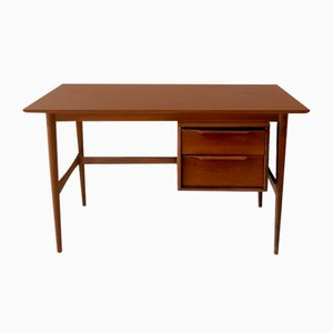 Bureau Mid-Century avec Finition en Bouleau Teinté Original de Heywood Wakefield, USA, 1960s