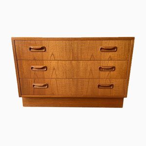 Vintage Fresco Chest of 3 Drawers from G-Plan