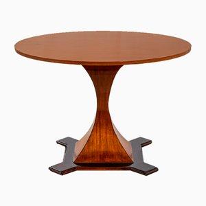 Esstisch mit Runder Tischplatte im Stil von Carlo De Carli, 1950er