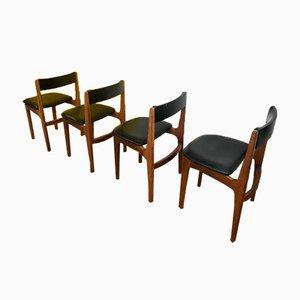 Scandinavian Chairs, Set of 4