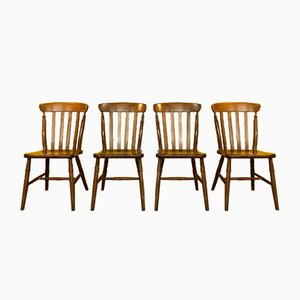 Skandinavische Stühle, 4er Set
