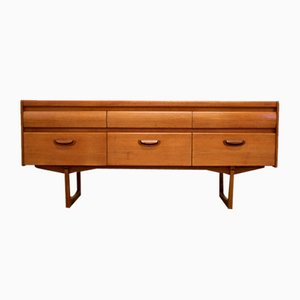Mid-Century Teak Sideboard from William Lawrence of Nottingham, 1960s