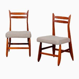 Stühle von Guillerme et Chambron für Votre Maison, 1960, 2er Set