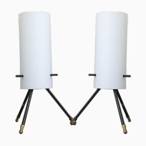 Floor Lamps from Stilnovo, 1950s, Set of 2