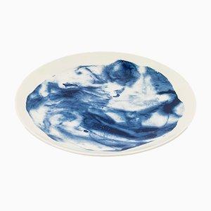 Assiette Bleue Indigo par Faye Toogood pour 1882 Ltd