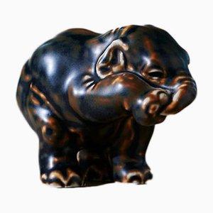 Elephant von Knud Kyhn für Royal Copenhagen