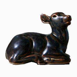 Deer by Knud Kyhn for Royal Copenhagen