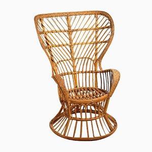 Korbgeflecht Sessel