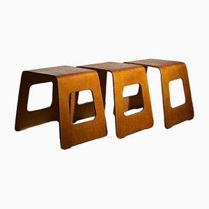 Hocker von Ikea, 1960er, 3er Set