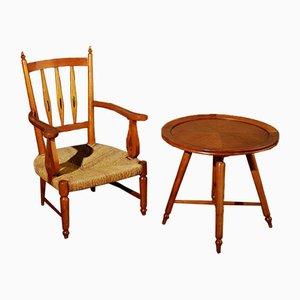 Sessel und Couchtisch von Paolo Buffa, 2er Set