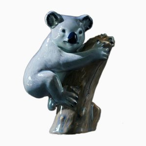 Porcelain Koala Bear Figurine from Copenhagen B&G