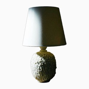 Chamotte Tischlampe von Gunnar Nylund für Rörstrand