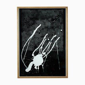Ohne Titel, Griffelkunst 1989, by Sigmar Polke