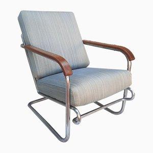Bauhaus Style Armchair, 1970s