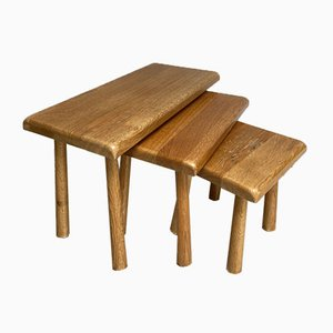 Tables Gigognes par Fabriek Oisterwijk, 196sa, Set de 3