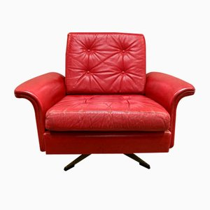 Roter Ledersessel, 1950er