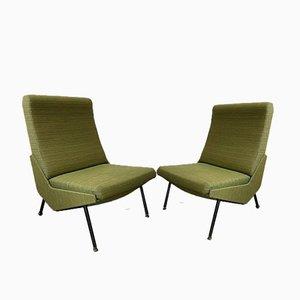 Vintage Stühle von Pierre Guariche für Airborne, 1960er, 2er Set