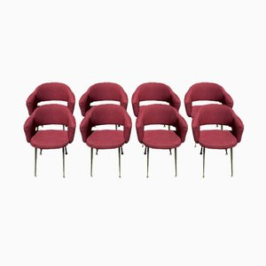 Conference Chairs by Eero Saarinen for Knoll Inc. or Knoll International, 1957, Set of 8