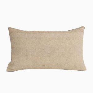 Traditioneller türkischer dekorativer Kelim Kissenbezug aus organischer Wolle von Vintage Pillow Store Contemporary