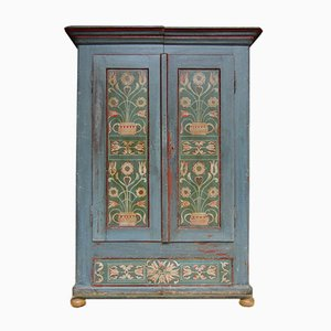 Antique Painted Farmers Cabinet