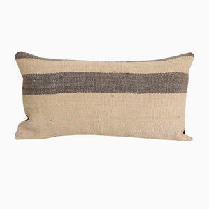 Coussin Kilim Vintage Style Minimaliste en Chanvre avec Détails Original de Vintage Pillow Store Contemporary