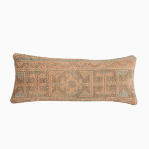 Oversize Mid-Century Tribal Oushak Lumbar Bedding Cushion Cover from Vintage Pillow Store Contemporary