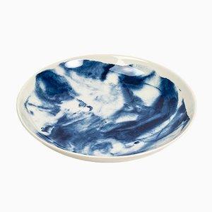 Cuenco para pasta Indigo Storm de Faye Toogood para 1882 Ltd