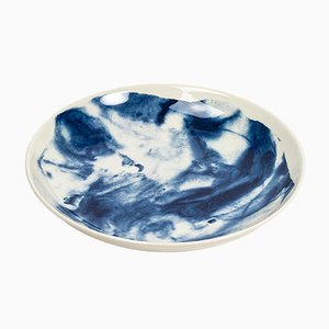 Indigo Storm Pasta Bowl by Faye Toogood for 1882 Ltd