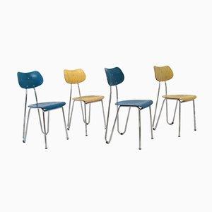 Beistellstühle von Karl Otto für L&C Stendal / Arno, 1990er, 4er Set