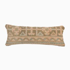 Handgefertigter Vintage anatolischer Kissenbezug aus weicher Wolle mit verblasstem Kissenbezug von Vintage Pillow Store Contemporary
