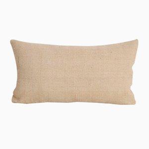 Gestreifter anatolischer Vintage Hanf Kelim Kissenbezug von Vintage Pillow Store Contemporary