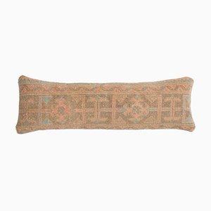 Dekorativer handgefertigter türkischer Vintage Kelim Kissenbezug