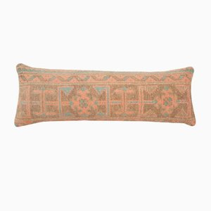 Vintage Anatolian Handmade Ethnic Wool Lumbar Bedding Rug Cushion Cover