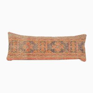 Oversize Turkish Oushak Lumbar Rug Bedding Cushion Cover