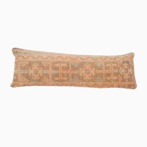 Vintage Turkish Bohemian Handmade Wool Rug Bedding Cushion Cover