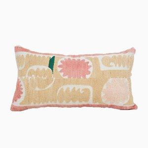 Anatolian Striped Lumbar Suzani Cushion Cover with Rustic Anatolian Decor from Cupioli Luxury Living, Mid-20th Century