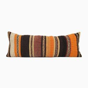 Boho Geometric Tribal Lumbar Kilim Bedding Cushion Cover with Farmhouse Decor
