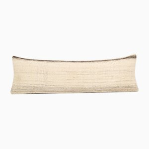 Anatolian Boho Wool Lumbar Kilim Cushion Cover Case