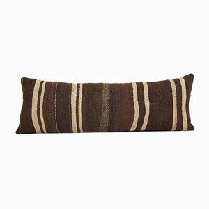 Bohemian Handwoven Organic Ethnic Kilim Bedding Cushion Cover