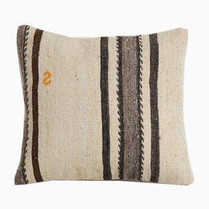 Anatolischer dekorativer quadratischer Kelim Kissenbezug von Vintage Pillow Store Contemporary