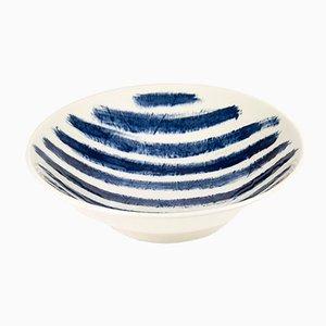 Indigo Rain Medium Serving Bowl by Faye Toogood for 1882 Ltd