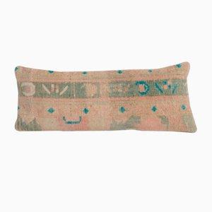 Antiker türkischer Teppich mit Kissenbezug