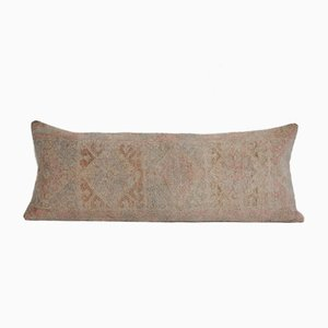 Antique Muted Color Lumbar Rug Bedding Cushion Cover