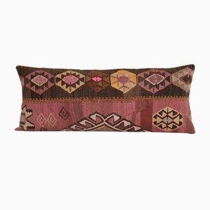 Vintage Anatolian Wool Kilim Bedding Cushion Cover
