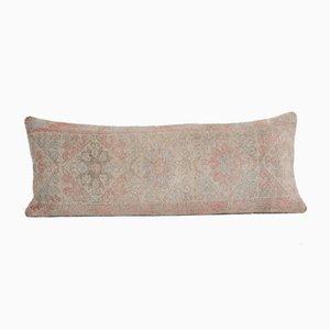 Oversize Vintage Turkish Ethnic Wool Oushak Bedding Rug Cushion Cover