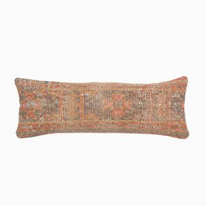 Extra Long Vintage Ethnic Copper Lumbar Rug Bedding Cushion Cover