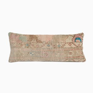 Extra Long Turkish Ethnic Faded Copper Lumbar Cushion Cover