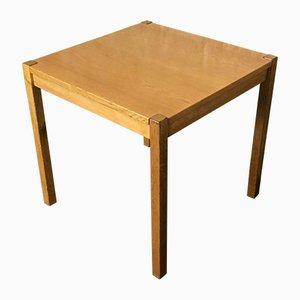 Danish Modern Oak Side Table, 1960s